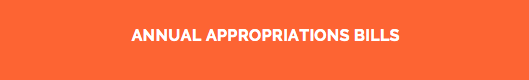 Annual Appropriations Bills Visual